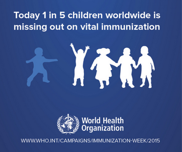 Review your immunization schedule during World Immunization Week (April 24 – 30)