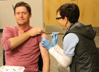 More than 100 residents vaccinated at MCHD adult flu vaccination clinic