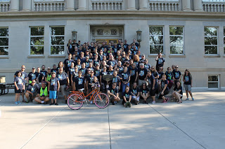 Hundreds take to streets for Bike to Work Day 2016