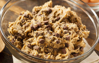 Seriously though, don't eat the cookie dough