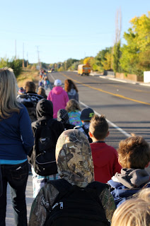 Walk to School Day promotes health, safe walking and biking