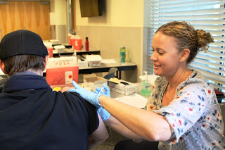 MCHD staff administers 286 flu shots during Adult Flu Clinics