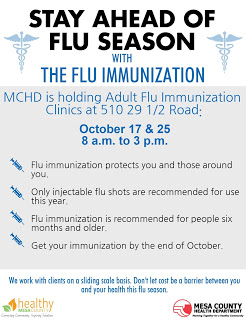 Adult flu clinics offer easy immunization access to residents