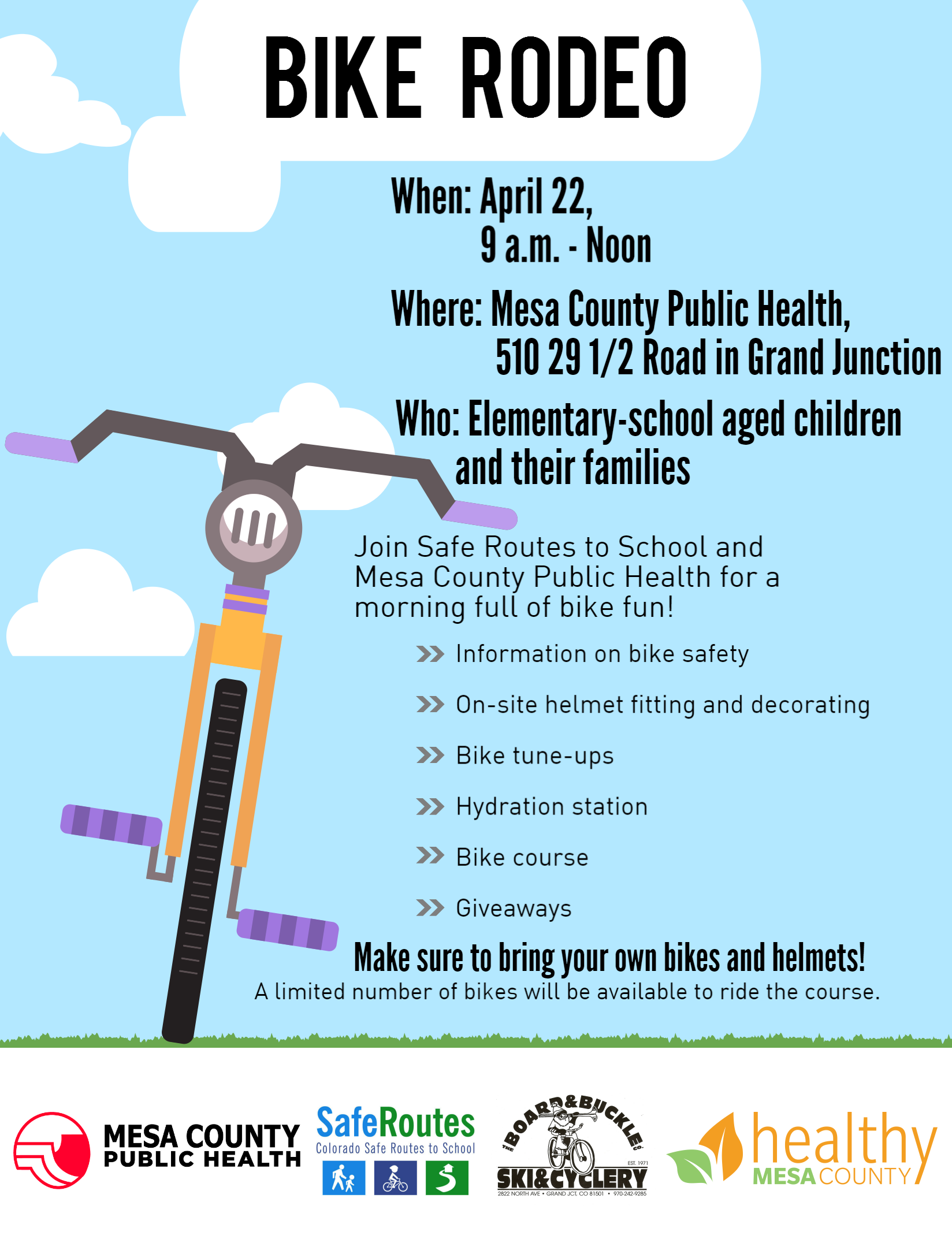 Bike rodeo offers families a morning full of bike fun and safety
