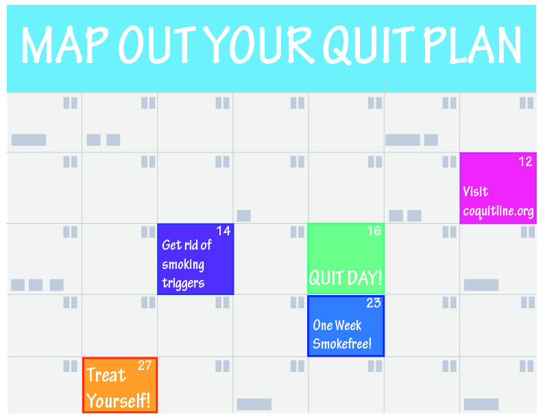 Create your own quit plan to find success