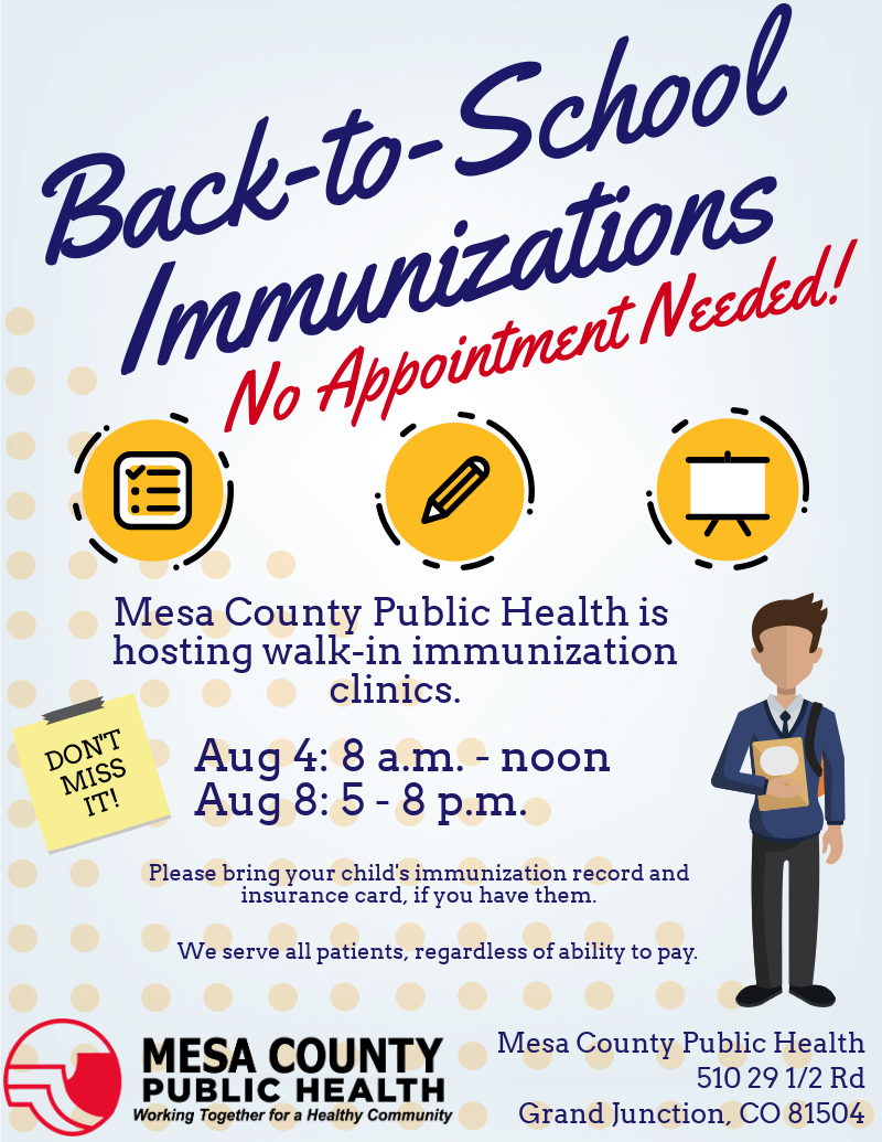 MCPH expands hours for Back-to-School Immunization Clinics