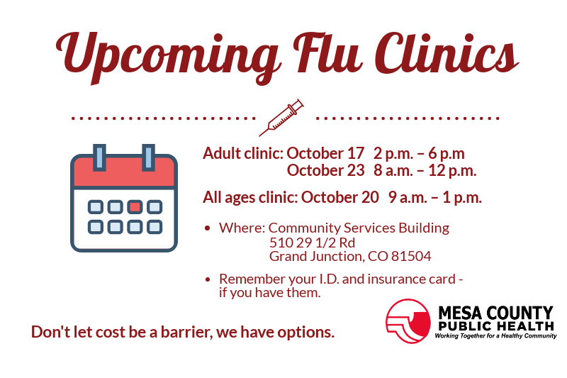 MCPH offers three flu clinics open to residents