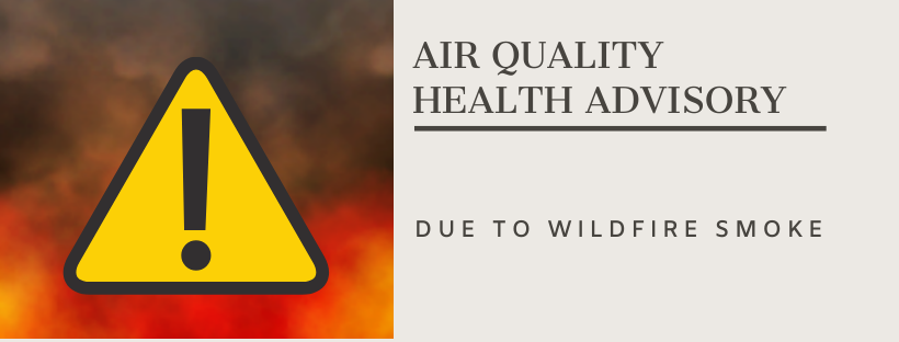 Air Quality Advisory through 9 p.m. on September 7