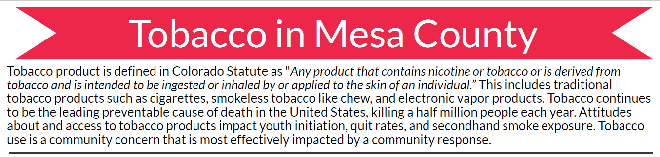 MCPH special report highlights tobacco use in Mesa County