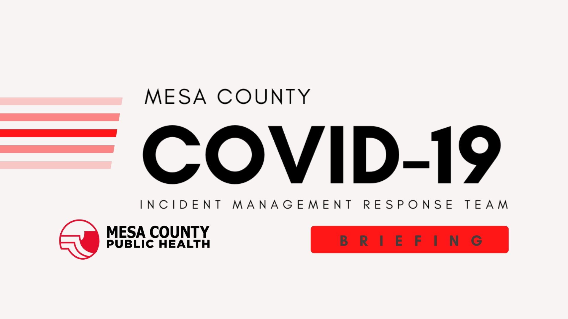 MCPH to Give Regular Briefings on COVID-19