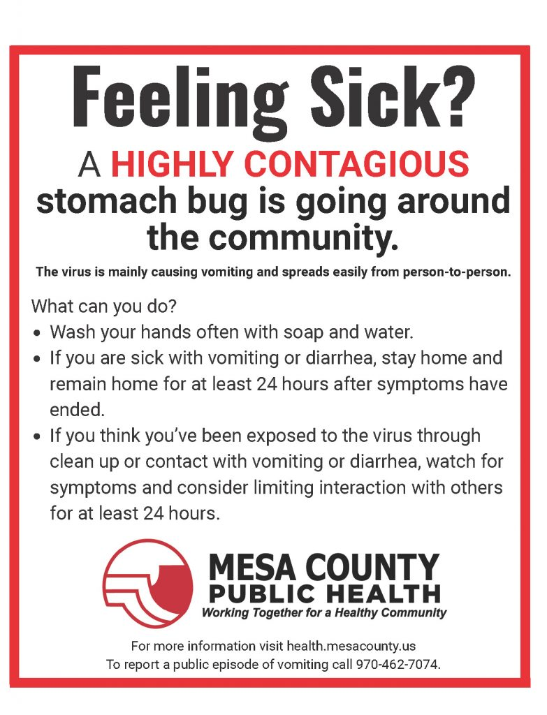 Community Action Required to Help Stop the Spread – Mesa County Public  Health