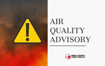 Air Quality Health Advisory for Wildfire Smoke through 9 a.m. Sept. 11