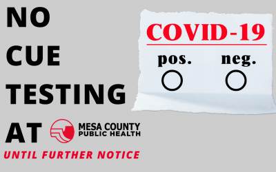 Cue Rapid COVID-19 Test Temporarily Paused at MCPH
