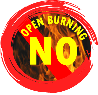 NO BURN ADVISORY through July 8 due to fire safety concerns
