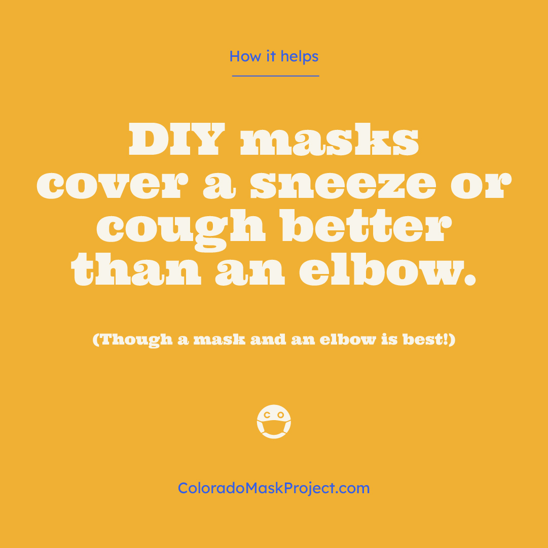 FAQ about Governor's urging for all Coloradans to wear cloth face coverings