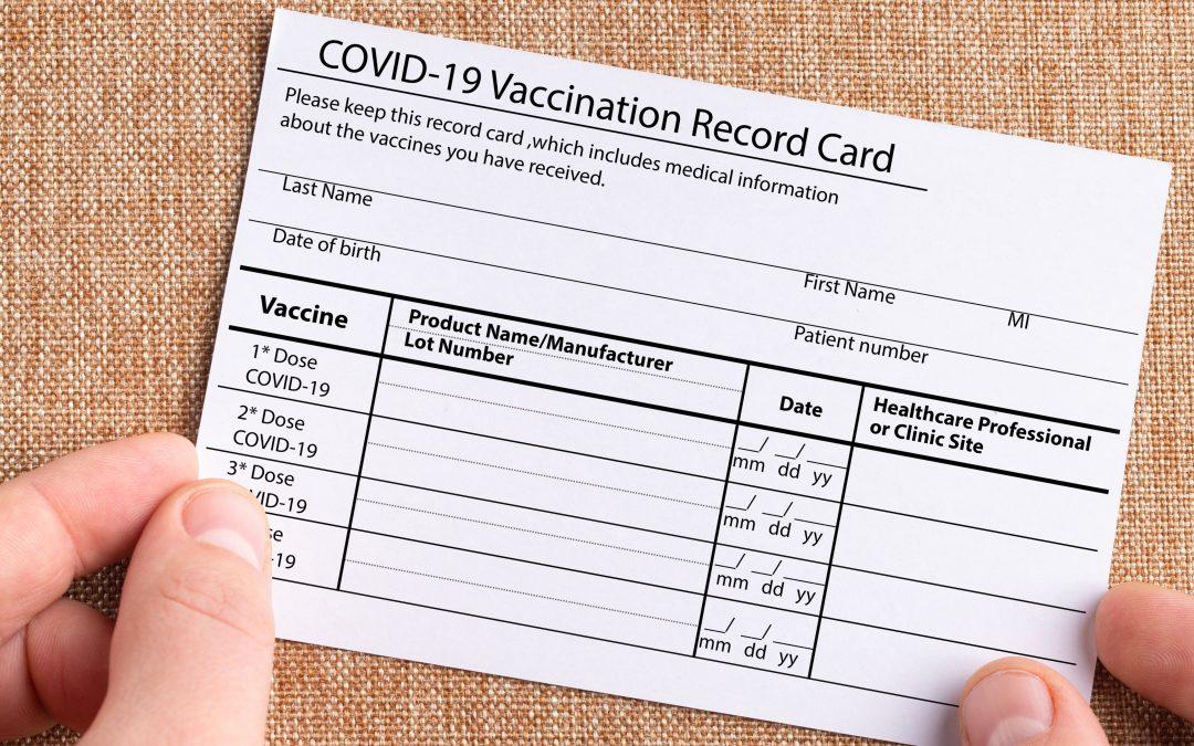COVID-19 VACCINATION RECORD