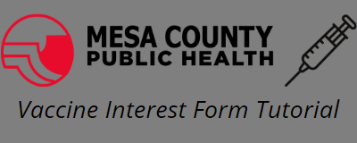 MCPH COVID-19 Vaccine Interest Form Tutorial