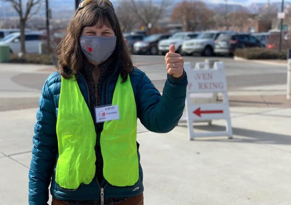 Without Volunteers, Mesa County's Mass Vaccination Effort Wouldn't be Possible